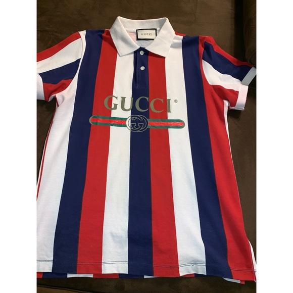 674cfbfb9 Gucci Shirts Logo Baiadera Polo Poshmark
